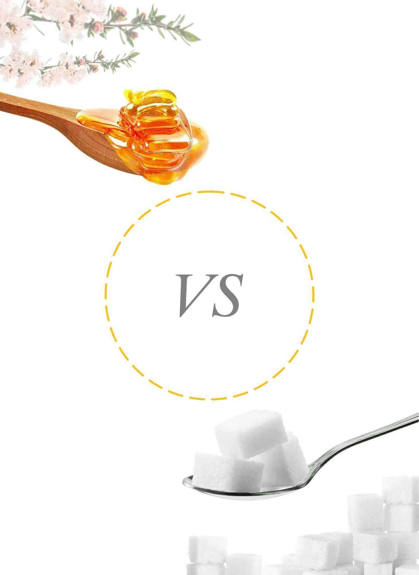 Manuka Honey versus Sugar- Healthy 5